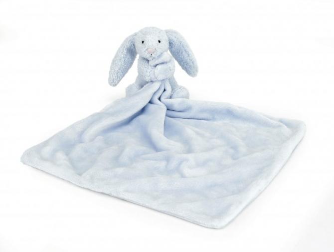 Snutte kanin blå, Jellycat